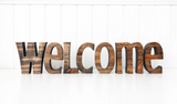 Welcome Letters by Foundations Decor