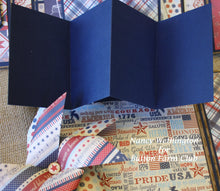 Liberty Folio designed by Nancy Wethington ~TUTORIAL ONLY