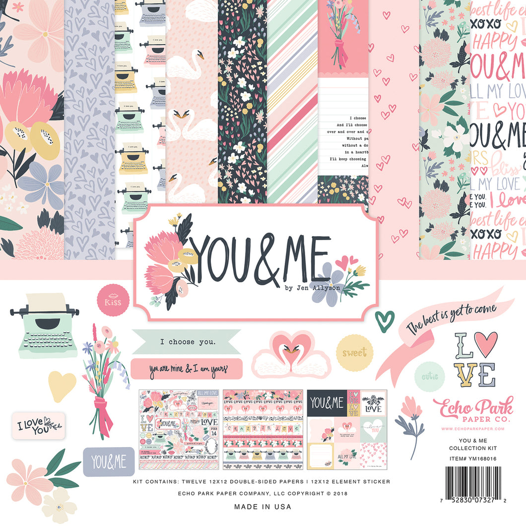 YOU & ME COLLECTION KIT by ECHO PARK