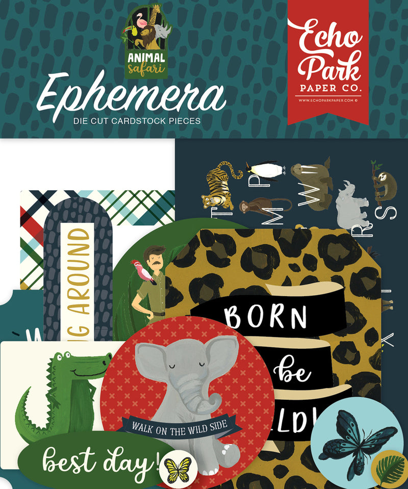 ANIMAL SAFARI EPHEMERA by ECHO PARK