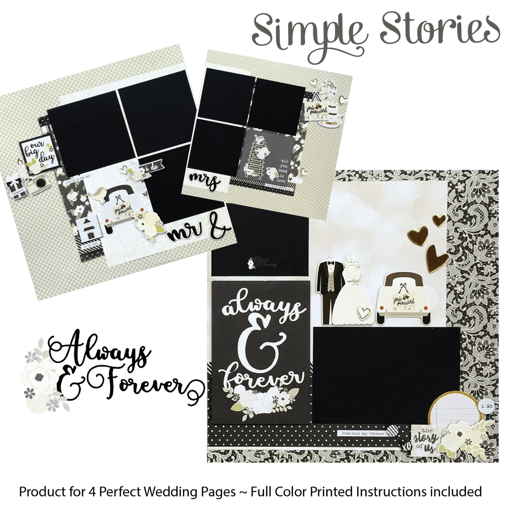 Always & Forever Page Kit by Simple Stories