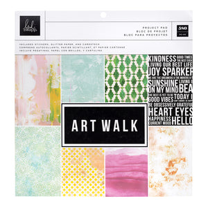 "Heidi Swapp Art Walk Project Pad 12""X12"""