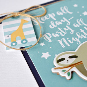 Hello Baby Boy  Page Kit by Wendy Sue Anderson