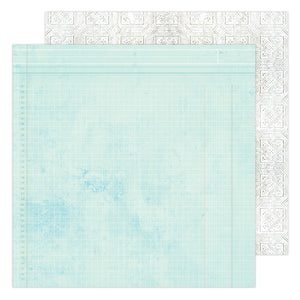 "PAPER ESCAPE Heidi Swapp Art Walk Double-Sided Cardstock 12""X12"""