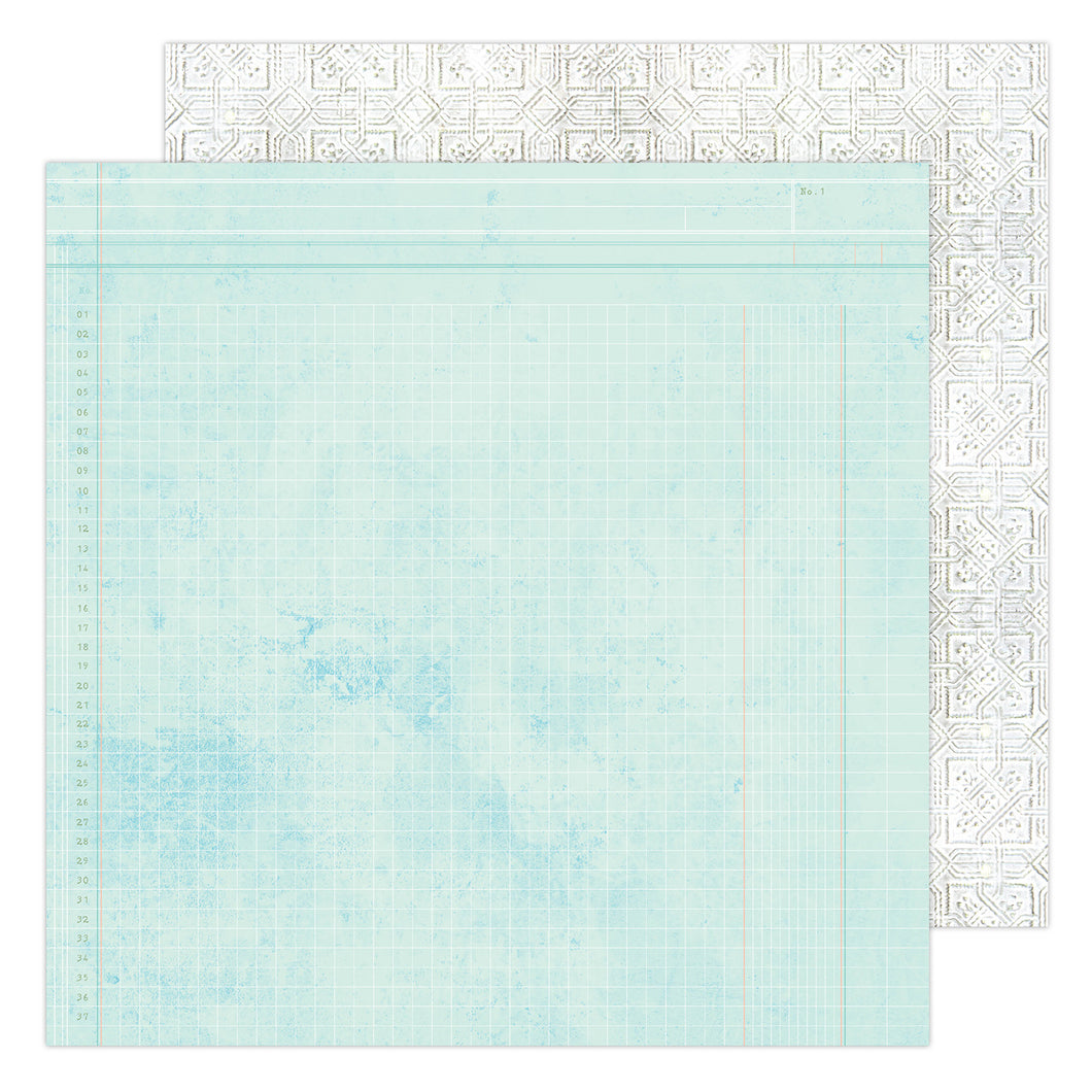 PAPER ESCAPE Heidi Swapp Art Walk Double-Sided Cardstock 12