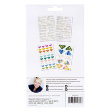 Heidi Swapp Art Walk Definition & Photo Corners 108/Pkg
