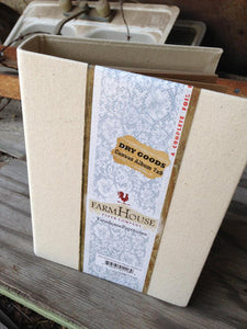 FarmHouse Canvas 7 x 9  Dry Goods Album