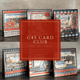 May Graphic 45 Catch of the Day Card Set ~ Vol 5 - 2021