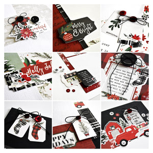 Christmas Market Page Kit by Wendy Sue Anderson