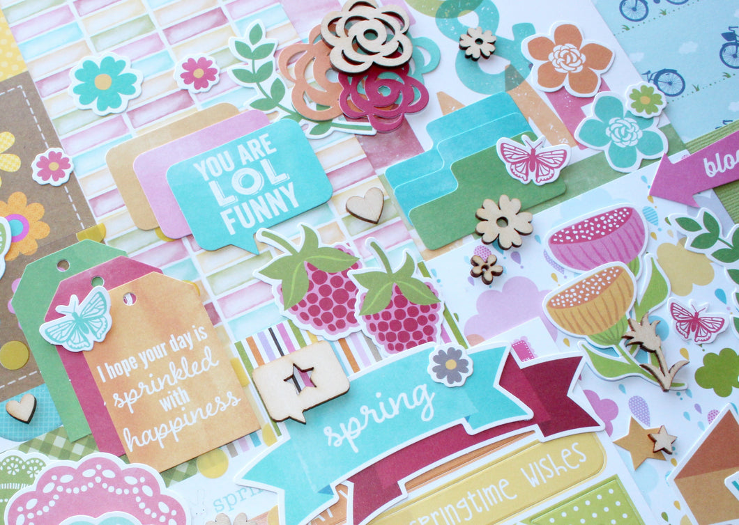Everyday Documented Page Kit April