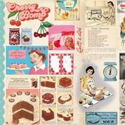 Vintage Recipes 6x6 Collection Pack