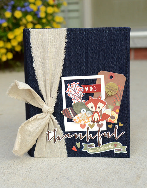 Sweater Weather Denim Mini Album by Vicki Boutin