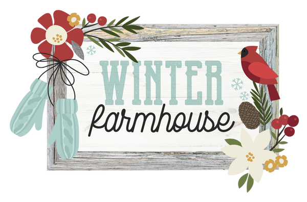 Winter Farmhouse Collection Paper Kit