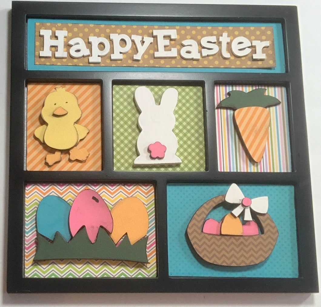 Easter Shadow Box Kit ~ papers included