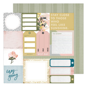 PAPER EVERYDAY Patterned Paper Storyline Chapters by Heidi Swapp