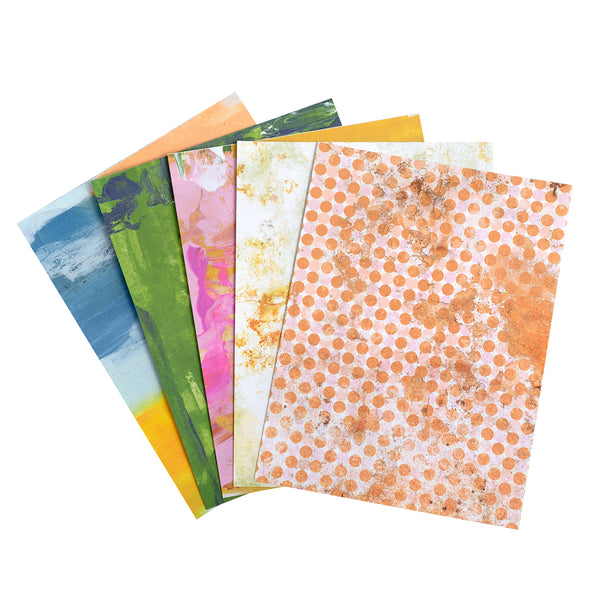 "Heidi Swapp Single-Sided Paper Pad 6""X8"" 36/Pkg Art Walk"