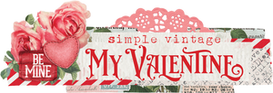 My Valentine Embellishment Kit