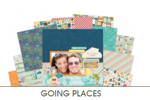 Going Places Collection Paper Kit