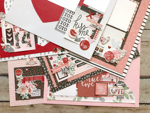 """Kissing Booth"" Page Kit by Mary-Ann Maldonado"