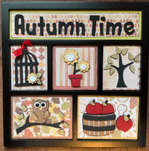 Autumn Time Shadow Box Kit ~ papers included