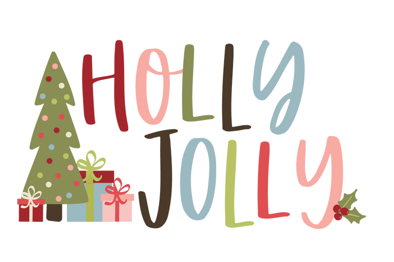 Holly Jolly Embellishment Kit