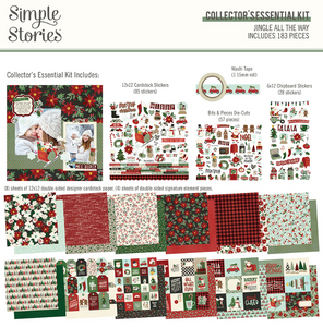 Jingle All the Way Collector's Essential Kit by Simple Stories **SHIPPING JULY**