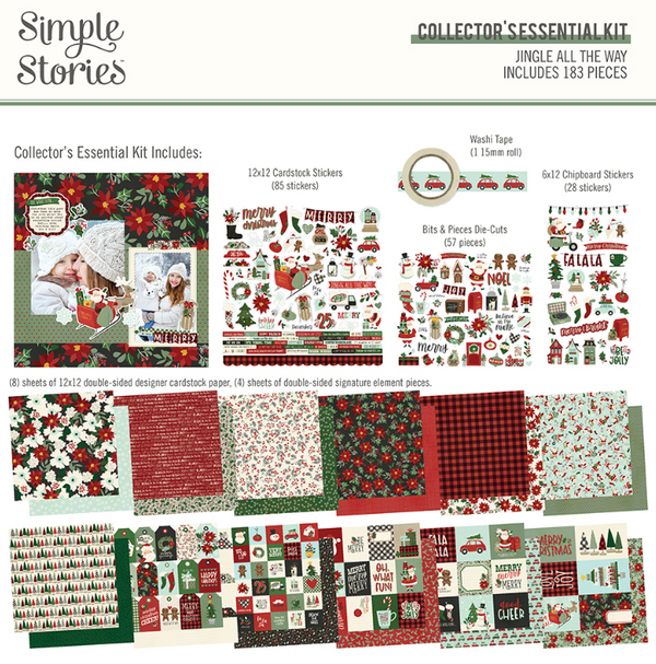 Jingle All the Way Collector's Essential Kit by Simple Stories