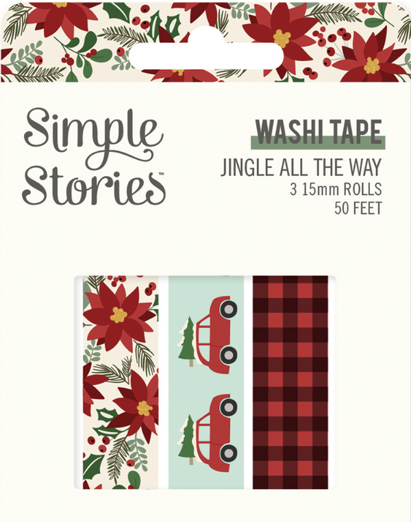Jingle All the Way Washi Tape by Simple Stories