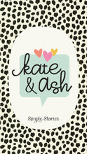 Kate & Ash 4x6 Sn@p! Flipbook Album ~ by Simple Stories