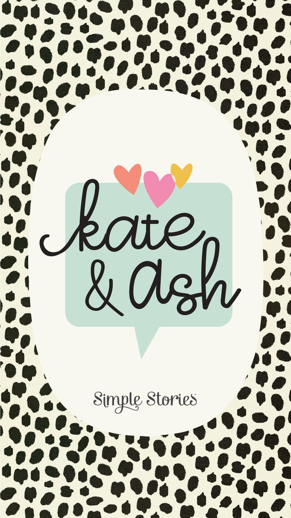 Kate & Ash SN@P! Binder Kit by Simple Stories
