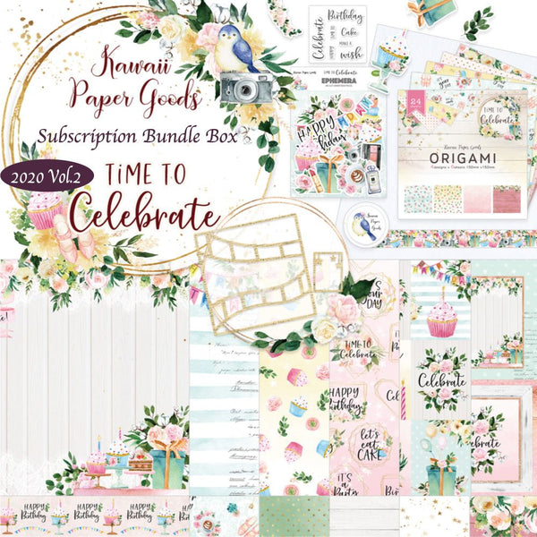 Kawaii Paper Goods Quarterly Subscription
