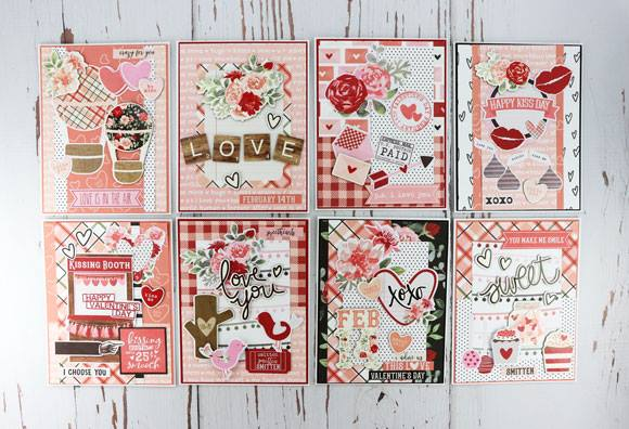 Kissing Booth Card Kit by Simple Stories