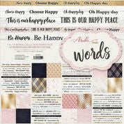 Words 12x12 Collection Paper Pack