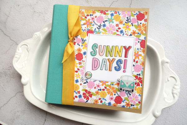 Sunkissed 6x8 Snap Binder