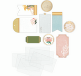 Heidi Swapp Storyline Chapters Tags & Pockets 15/Pkg