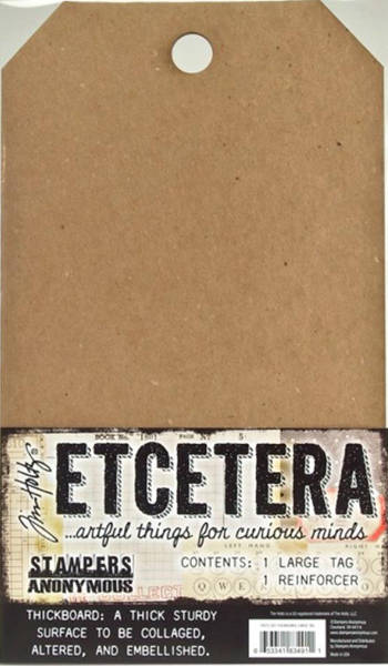 TIM HOLTZ ETCETERA LARGE TAG THICKBOARD by STAMPERS ANONYMOUS