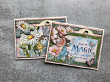 Fairie Wings Tag Card Set G45 Card Kit Vol 8