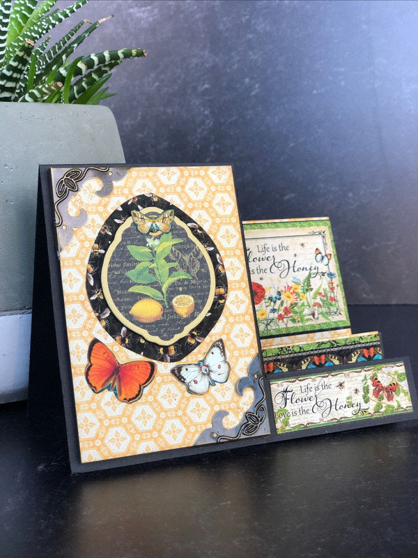 Nature Notebook Step Card Set ~ G45 Card Kit Vol 1 ~2021
