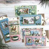 Graphic 45 Woodland Friends Card Set ~ 2020 Vol 12