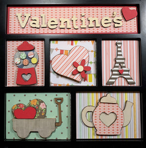 Valentines Shadow Box Kit