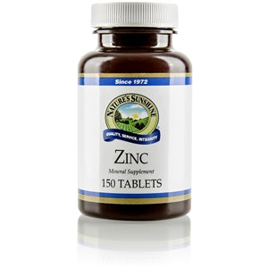 Zinc Blend 25 mg of Zinc per capsule,  150 capsules