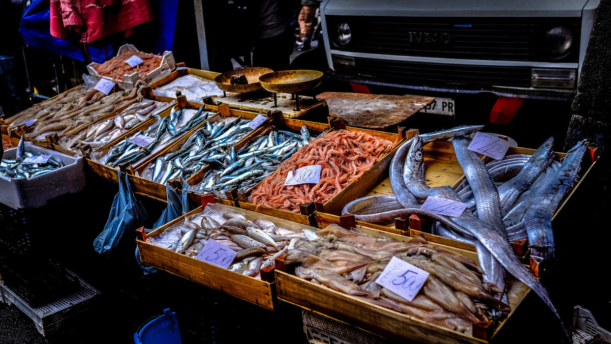 Catania | Never been at the Fish Market?