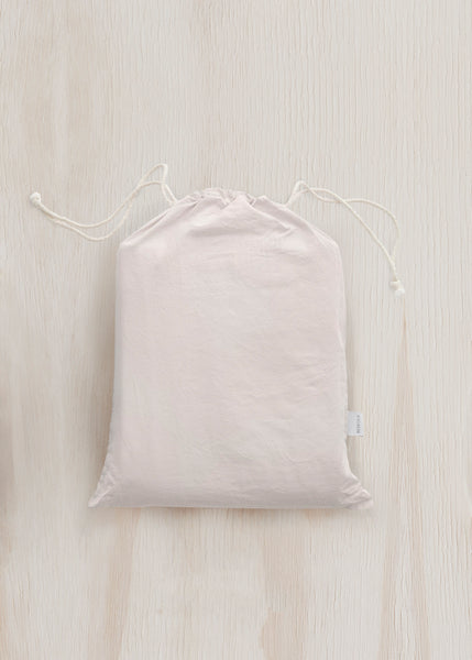 Relaxed Cotton Bedding Bundle in Rose Pink by Bedfolk