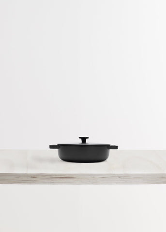 Cast Iron Saute Pan by Crane Cookware