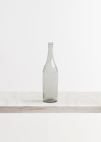 Large Glass Bottle Vase
