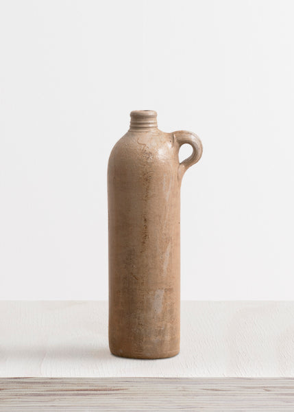 Large Stoneware Bottle Vase