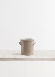 Large Stoneware Utensil Storage Pot