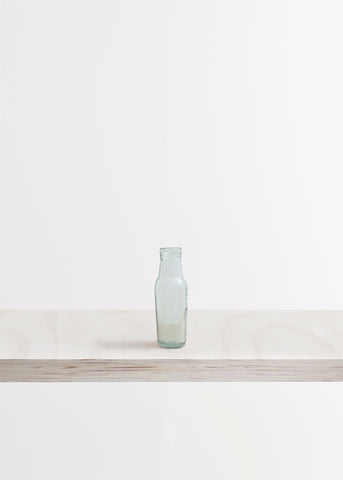 Medium Rounded Glass Bottle Vase