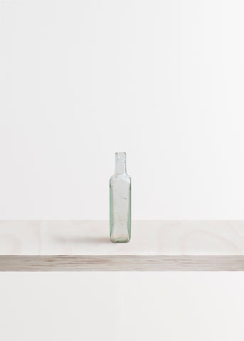 Medium Squared Glass Bottle Vase
