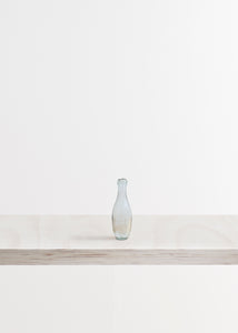 Small Rounded Glass Bottle Vase